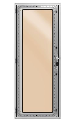 Single-wing door with glass for Industrial Modular Cabinets